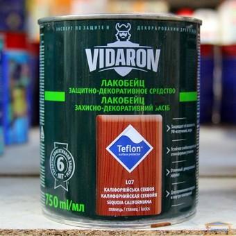 Изображение Лак для дерева цветной Видарон 0,75л калифорнийская секвойя