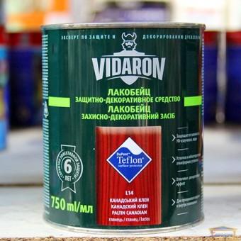 Изображение Лак для дерева цветной Видарон 0,75л канадский клён