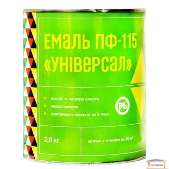 Изображение Эмаль ПФ-115 Универсал коричневая 2,8л Халва
