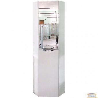 Изображение Пенал для ванны Гренада 40 угловой с зеркалом левый