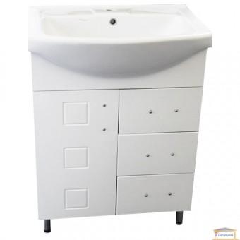 Изображение Тумба для ванны с умывальником Кватро Т10 65см
