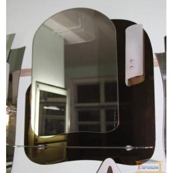 Изображение Зеркало Т-02 С шлиф бронза + светильник