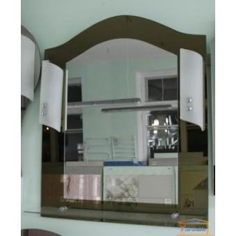 Изображение Зеркало Т-31 фацет бронза + светильник