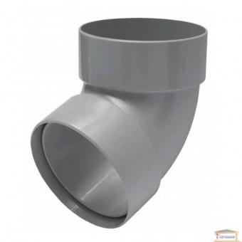 Изображение Отвод двухмуфтовый 67 грд. 100 серый