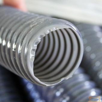 Изображение Труба гофрированная армированная ПВХ диаметр 40 серая