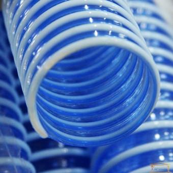 Изображение Труба гофрированная силиконовая армированная диаметр 40 синяя