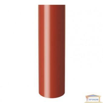Изображение Труба водосточная d100 красная 3м