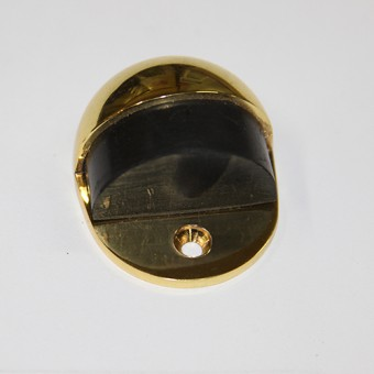 Изображение Упор дверной DS012 PB полированная латунь