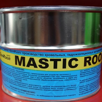 Изображение Мастика битумная (гидроизоляция кров.) 5 кг