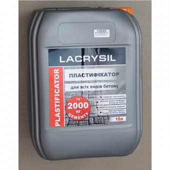 Изображение Пластификатор для бетона LS 10л коричневый