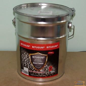 Изображение Мастика битумно-каучуковая 10 кг BITUGUM 1420