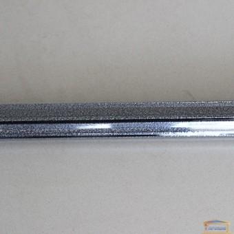 Изображение Угол для плитки внутренний 10мм серебро на черн.