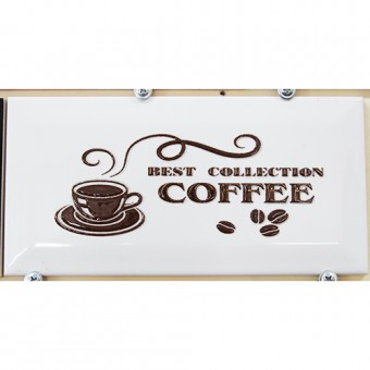 Изображение Декор Метротайлз 10*20 кофе