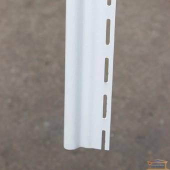 Изображение Планка стартовая для сайдинга 3м белая