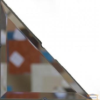 Изображение Декор треугольн. зеркальн 100*100 серебро