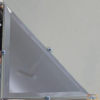 Изображение Декор треугольн. зеркальн 200*200 серебро