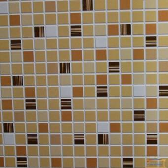 Изображение ПВХ панель Мозаика Кофе коричневый 956*480 мм