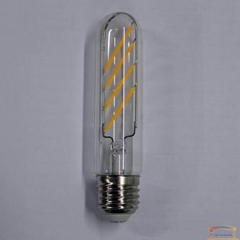 Изображение Лампа Эдисона LED Т30*125 4W Е27 2700К clear