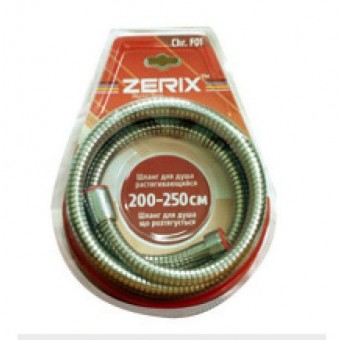 Изображение Шланг для душа Zerix F01 200-250cм