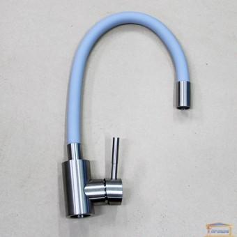 Изображение Смеситель для кухни MIXXUS SUS-011 REFL GREY нержавейка серый