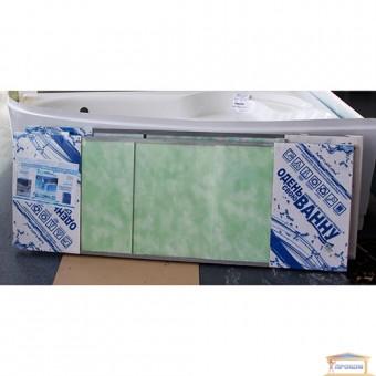 Изображение Экран под ванну ПРЕМИУМ А 1,68м облака зелень