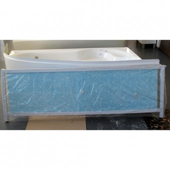Изображение Экран под ванну Ультра-легкий 1,68м голубой иней