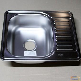 Изображение Мойка для кухни Крафт 5848E (08/180) матовая