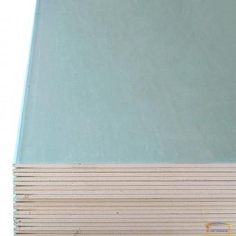 Изображение Гипсовая плита PLATO (влагост) 12.5х1200х2500 (гипсокартон)