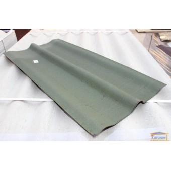 Изображение Конек для ондулина зеленый (1000х360х360 мм)