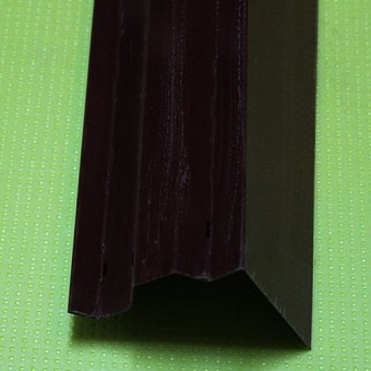 Изображение Торцевая планка ПТ-1 красная 2м