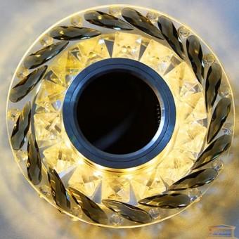 Изображение Точечный светильник с LED подсветкой 002 ИП-BL