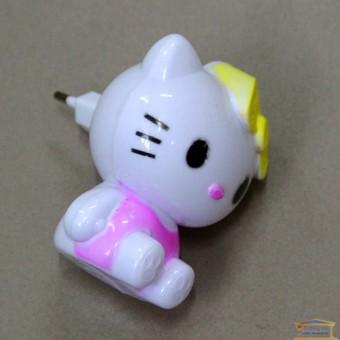 Изображение Ночник RIGHT HAUSEN Кошечка розовая 0,5W HN-071160