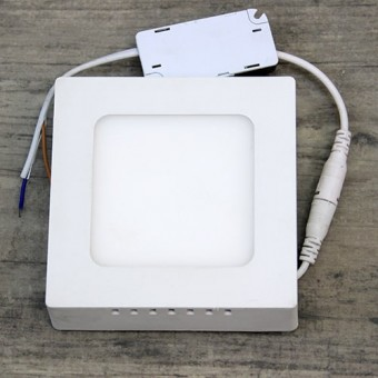 Изображение Светильник LED PANEL SQUARE (квадрат) накладной 6W Pure White Б-класс 547/1