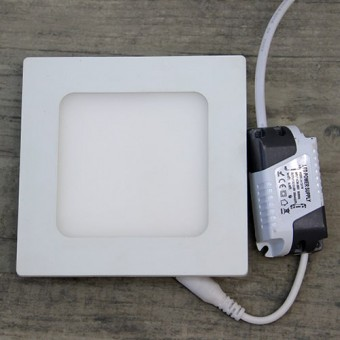 Изображение Светильник LED PANEL SQUARE (квадрат) 6W Pure White Б-класс 547/1