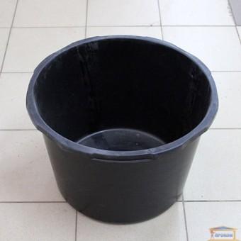 Изображение Таз строительный круглый 45л черный 04-453