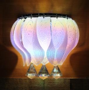 Настенный светильник торт 7032-2w с светодиодной подсветкой