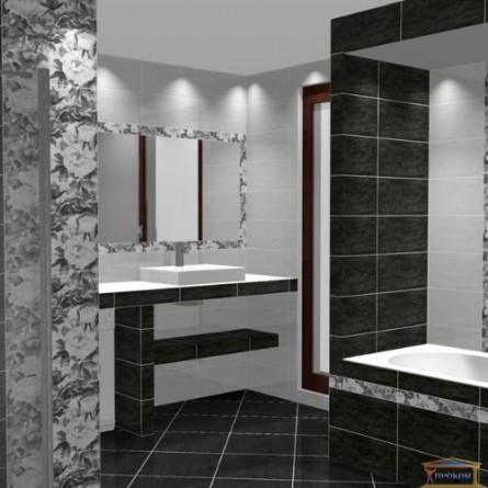 Изображение Плитка Металико 23*50 черная купить в procom.ua - изображение 2