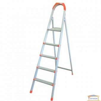 Изображение Лестница стремянка на  4 ступени плоскоов. профиль 70-134