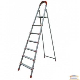 Изображение Лестница стремянка на  6 ступеней плоскоов. профиль 70-136
