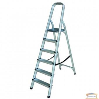 Изображение Лестница стремянка на 5 ступени алюминиевая 70-105