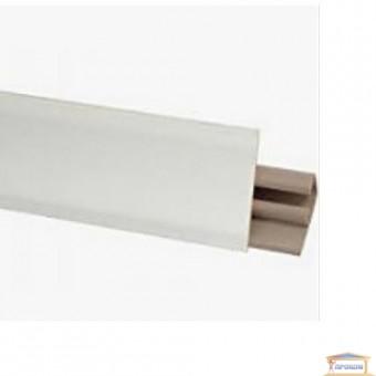 Изображение Плинтус кухонный белый 30*17*3000мм купить в procom.ua