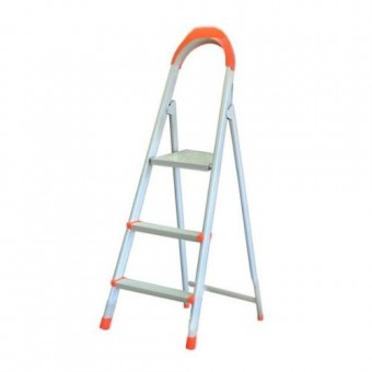Изображение Лестница стремянка на 3 ступени плоскоов. профиль 70-133