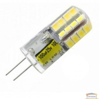Изображение Лампа LED Right Hausen 2,5W 12V G4 силикон 4000K (HN-157030) купить в procom.ua