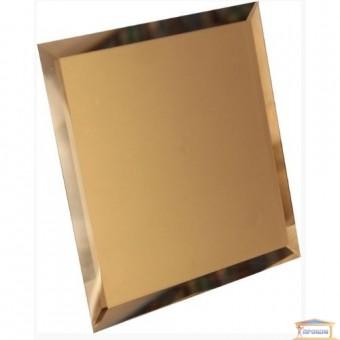 Изображение Декор квадрат зеркальн 100*100 бронза купить в procom.ua