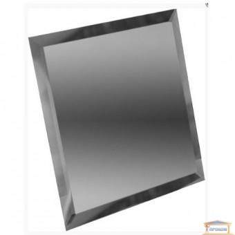 Изображение Декор квадрат зеркальн 100*100 графит купить в procom.ua