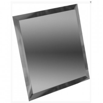 Изображение Декор квадрат зеркальн 150*150 графит купить в procom.ua