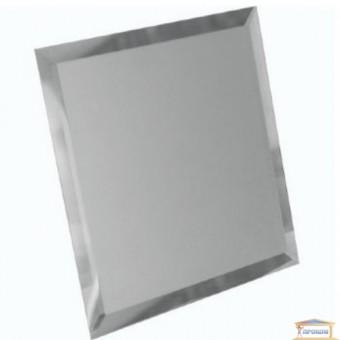 Изображение Декор квадрат зеркальн 200*200 серебро купить в procom.ua