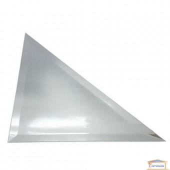 Изображение Декор треугольн. зеркальн 142*142 серебро купить в procom.ua