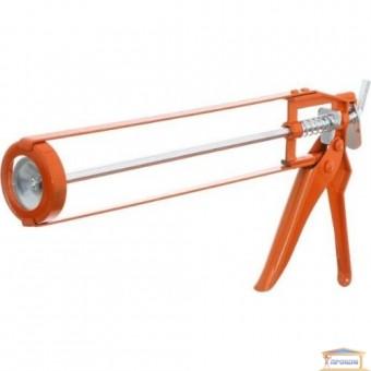 Изображение Пистолет для силикона Закрытый 22*330 мм Orange купить в procom.ua