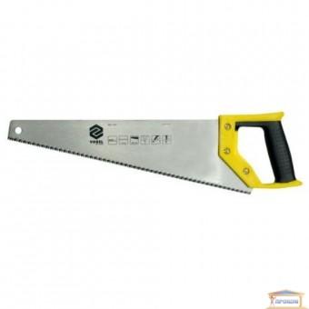 Изображение Ножовка по дереву VOREL пластм. ручка 500мм 28382